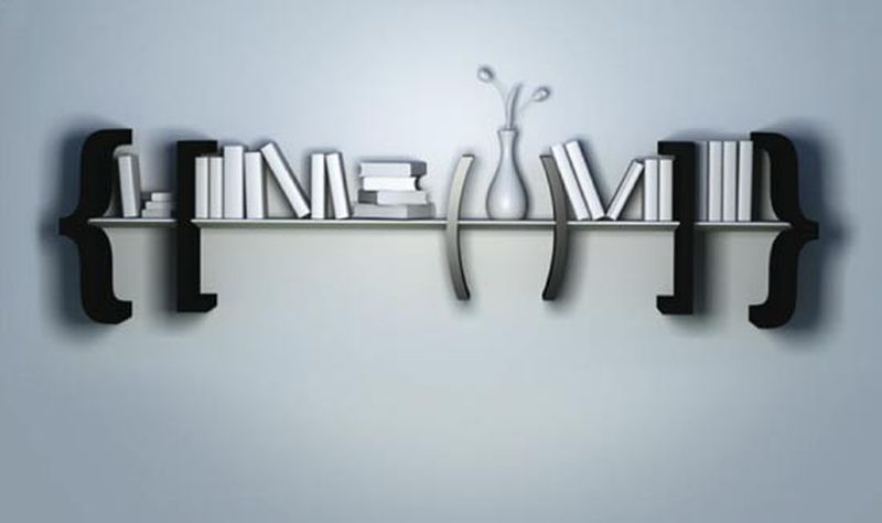 Equation Bookshelf by Marcos Breder