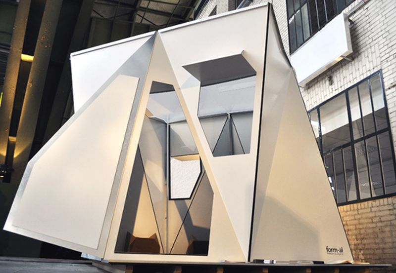 Fold flat shelter