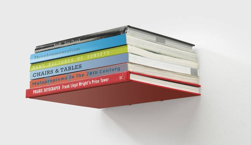 Invisible Floating Bookshelf