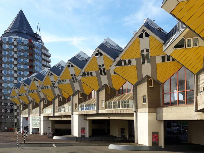 Netherland's cubic houses