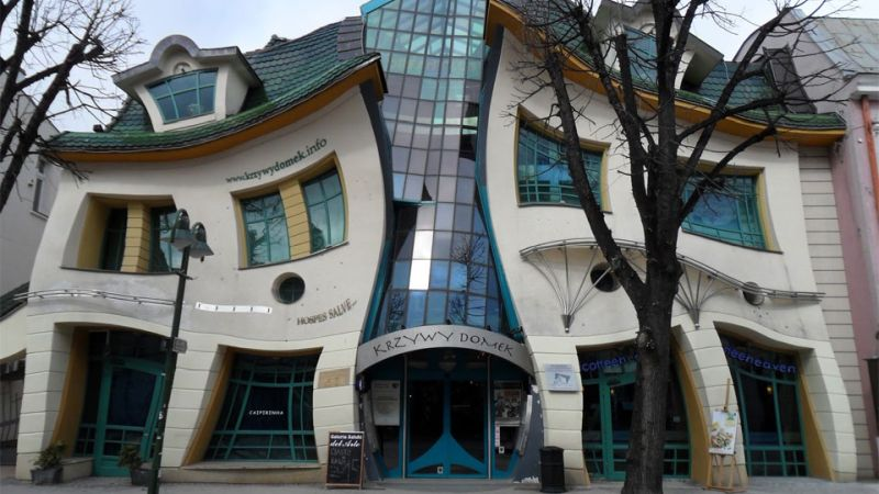 Poland's Crooked House