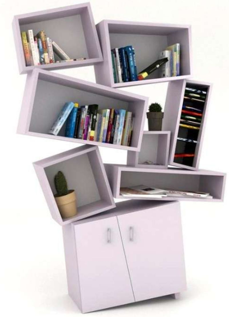 Techtonic Bookcase