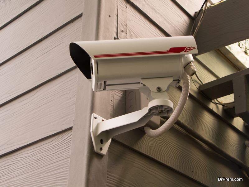 Video cams for surveillance