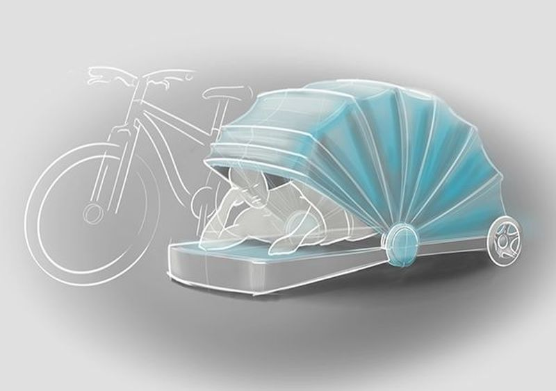 awesome bike trailer concepts