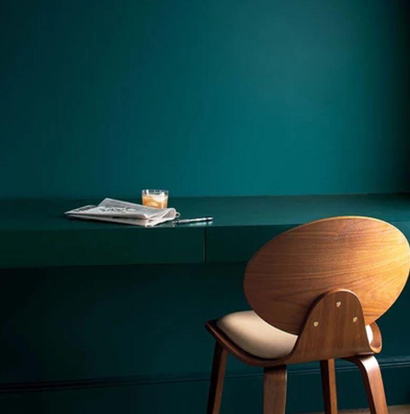 Beau Green benjamin Moore's Colour
