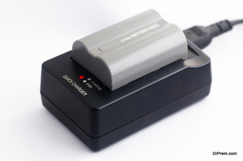 Charge camera batteries