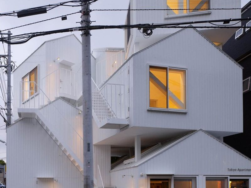 Collective housing project by Sou Fujimoto Architects