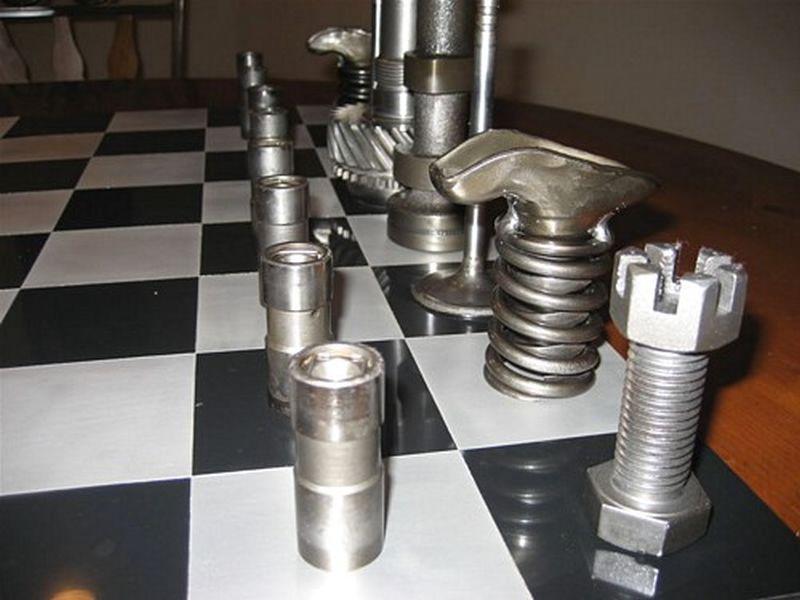 High Octane Chess Set