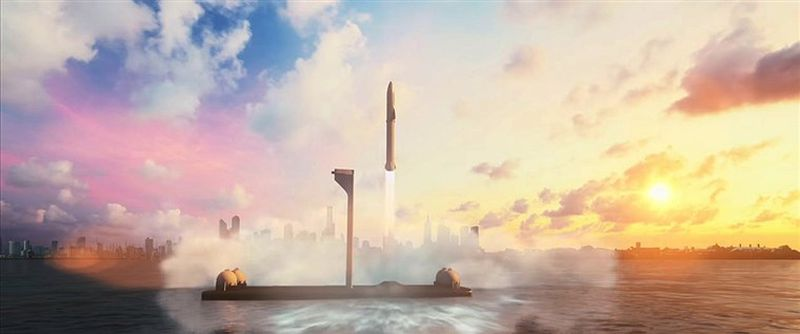 Inter-City rockets by Elon Musk SpaceX