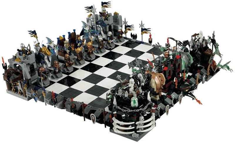 LEGO Castle Chess Set