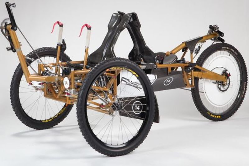Recumbent Moon Buggy Trike
