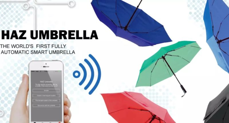 Haz motorized umbrella