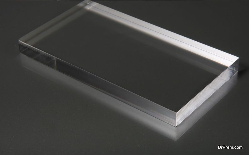 Photos on Plexiglass