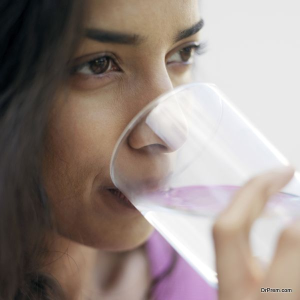 not all stored water is safe for human consumption