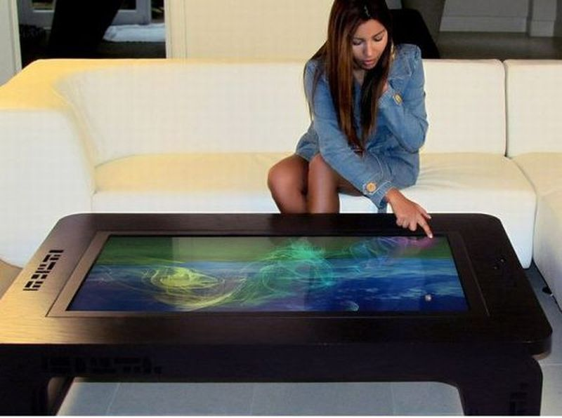 high-tech coffee table designs for geek