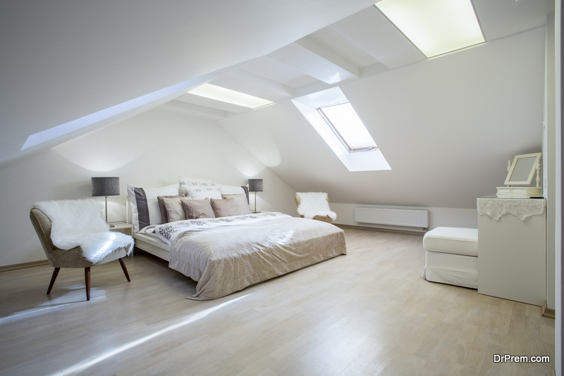 Entry point for loft conversion