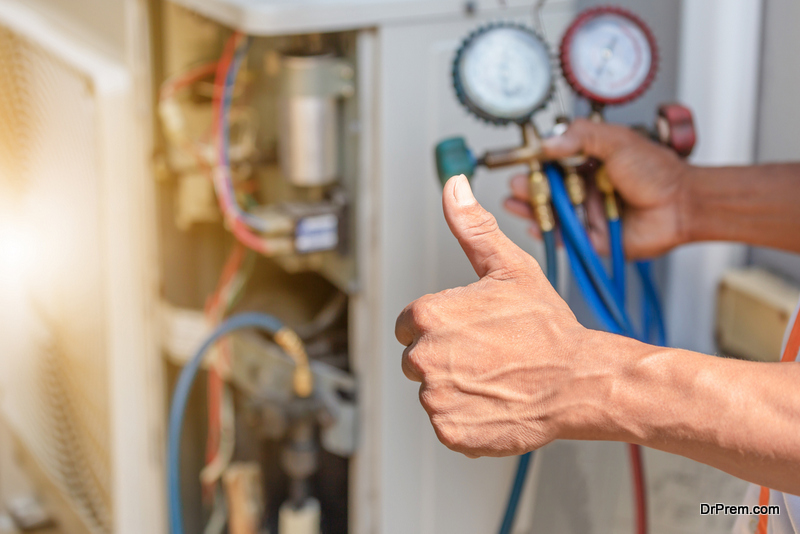 Service the heating unit before winters