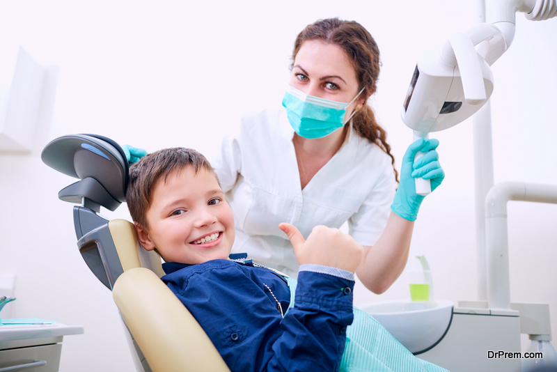 A Kid-Friendly Dental Office
