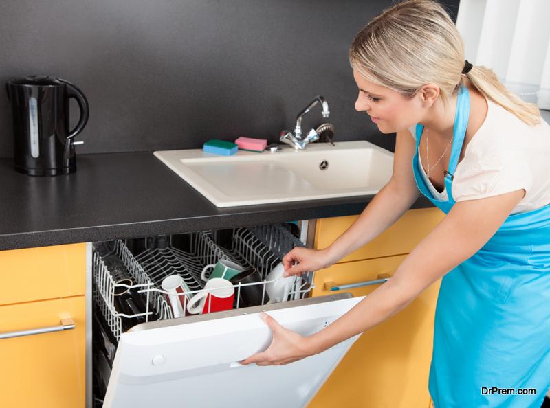Keep the Dishwasher Fresh