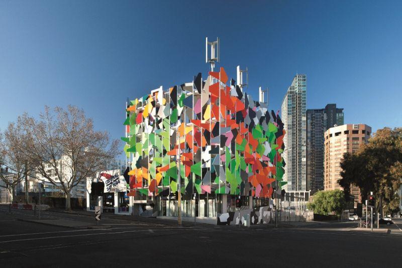 Pixel environmentally friendly building
