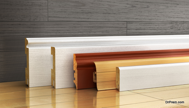 MDF Skirting Board for your apartment