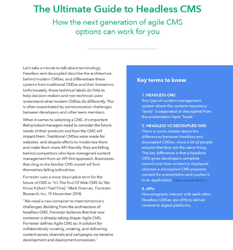 How Businesses Use a Headless CMS