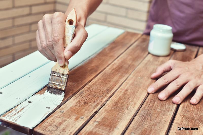 Refinish old-furniture