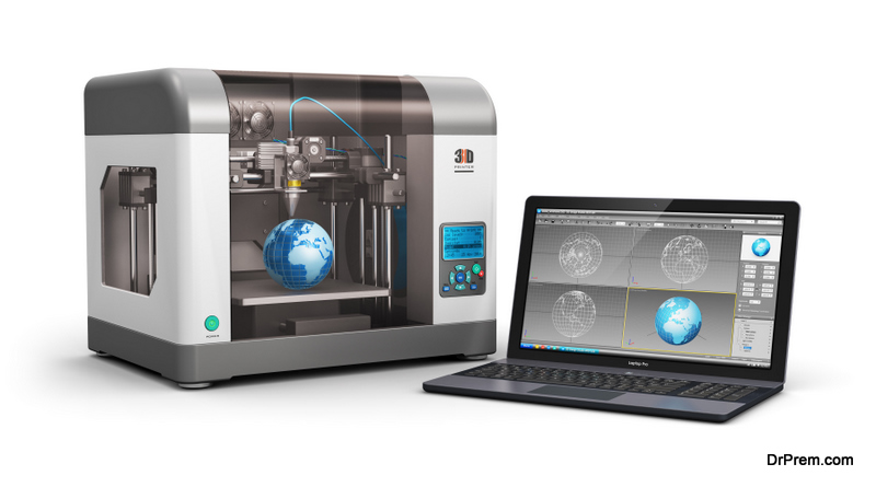 3D printing is used in space industry