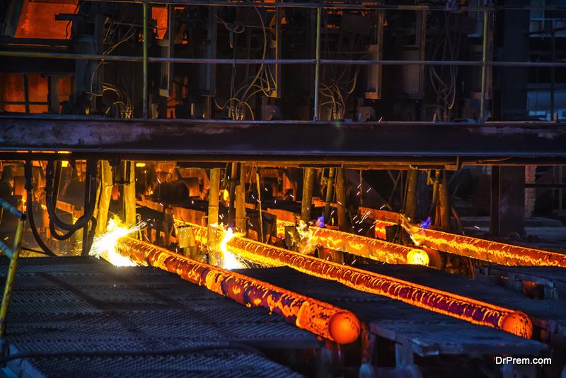 steel forging process
