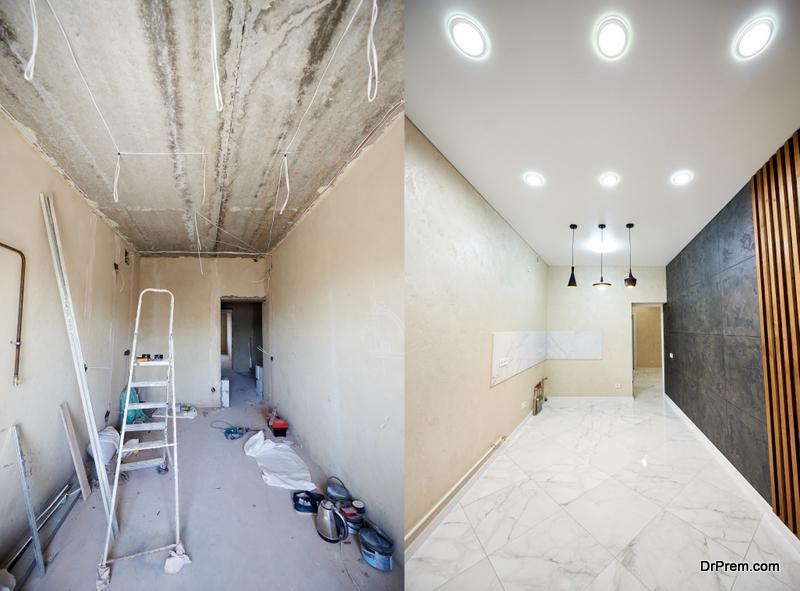 remodelling of older home
