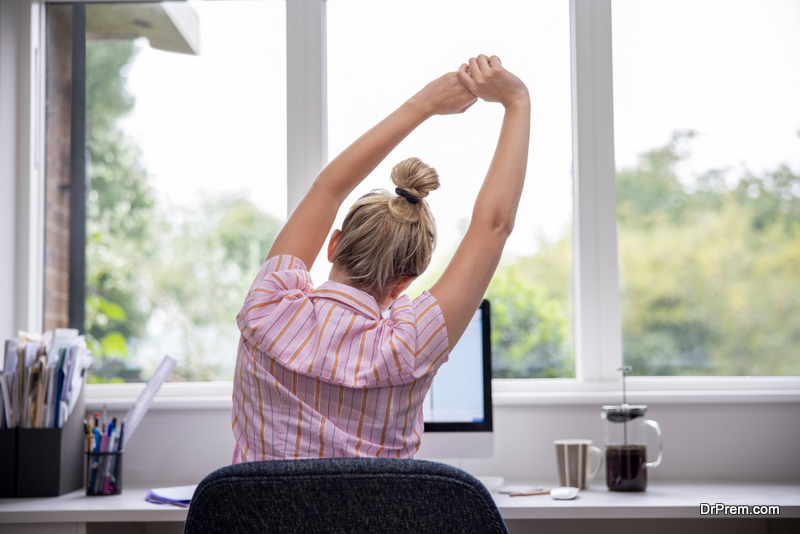 Improve Your Health While Working From Home