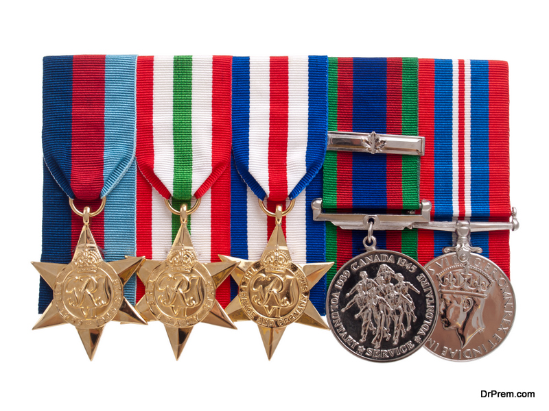 Mount Your Army Medals With Pride and Style