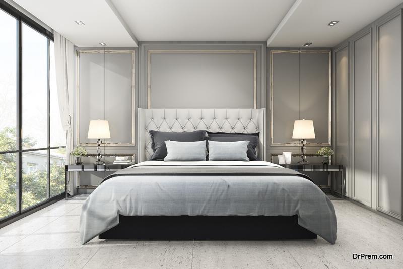 bedroom's décor