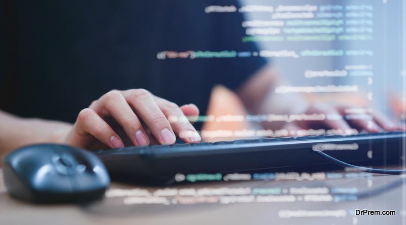 busy Website designer