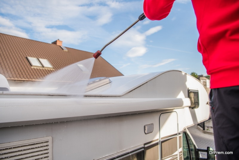 Cleaning Your RV Roof Before Sealing