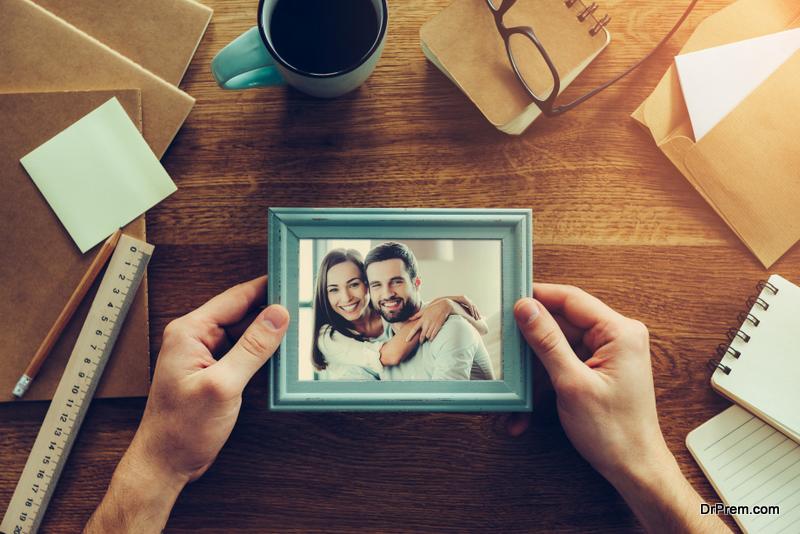 Romantic Picture Frame