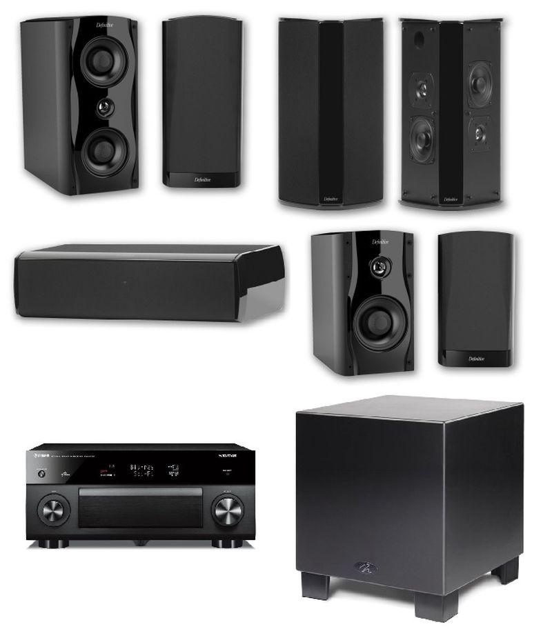 Cinema-worthy Sound System