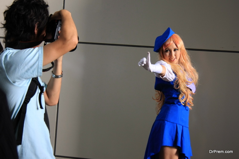 Communication between Cosplayer and Photographer