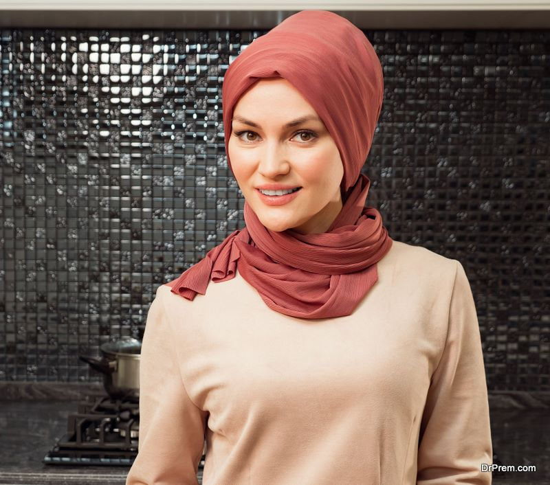 jersey fabric Hijab