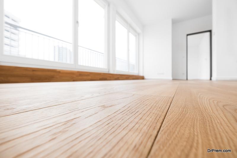 classic wooden floor