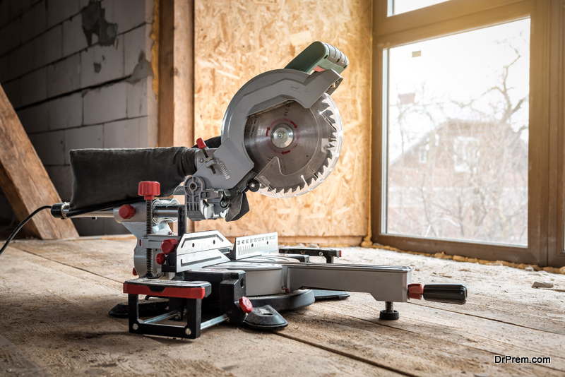 Dual Component Miter Saw