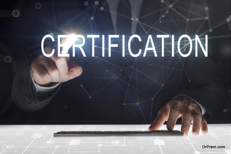 get Certification