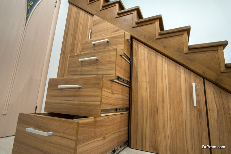 utilizing drawers and cabinets