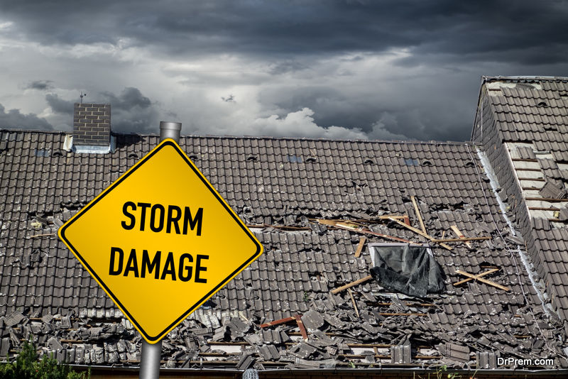 Restore the Beauty of Your Home after Storm Damage
