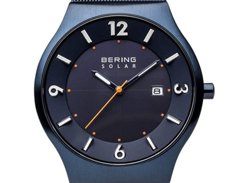 beautiful solar-powered watch